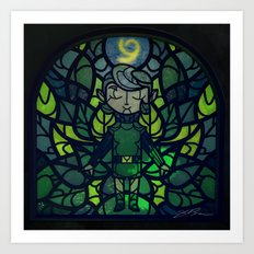 Sage of Forest Art Print