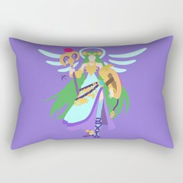PALUTENA(SMASH)CONCEPT BLUE Rectangular Pillow