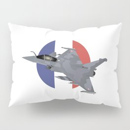Rafale French Jet Fighter Pillow Sham