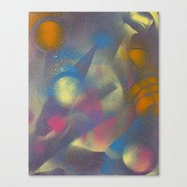 Uji- Studies in Being-Time #9 Canvas Print