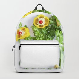 Peppers flower (35) Backpack
