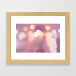 Sleep walking Framed Art Print