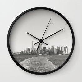 New York City Habor Wall Clock