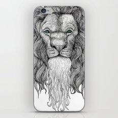 Gentleman Lion iPhone & iPod Skin