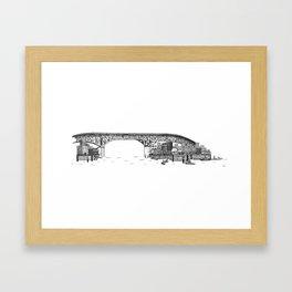 Granville Island Market Framed Art Print