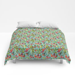 Dogrose pattern Comforters