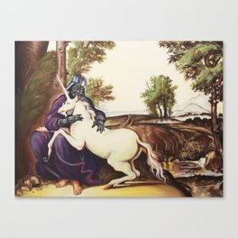The Darkside of the Unicorn Canvas Print