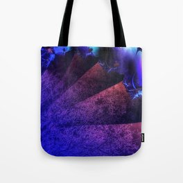 Pleated fantasy forest Tote Bag