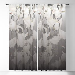 1000 Lucky Cranes Blackout Curtain