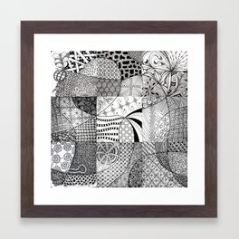 Blog Doodling #2 Framed Art Print
