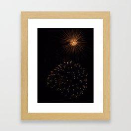 Rockets Framed Art Print