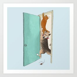 Cockroach !!!! Art Print