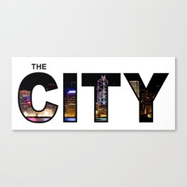 The City - Version 11 Canvas Print
