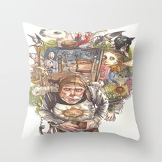 Patsy's Back Throw Pillow