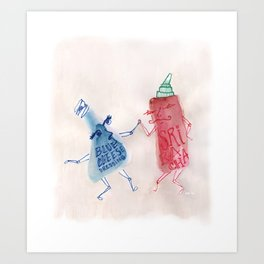 Srirachacha Art Print