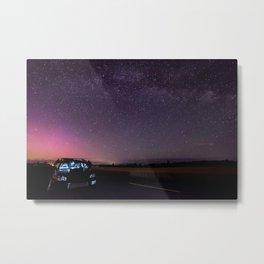 Nocturnal Subaru Metal Print