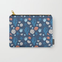 IN THE SEA -dark blue Carry-All Pouch