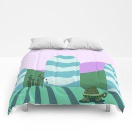 Turtle kawai Comforters