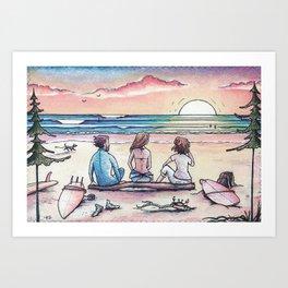 """ Living the Dream "" Art Print"