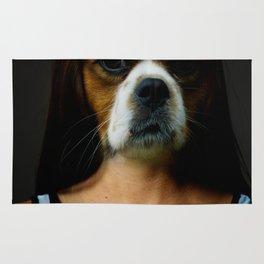 DogWoman #society6 #decor #buyart #artprint Rug