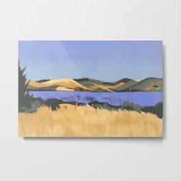 Lake in Marin County Metal Print