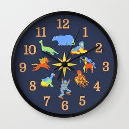 Creature Clock Wall Clock