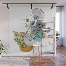 Space Fashion Trip by Lenka Laskoradova Wall Mural