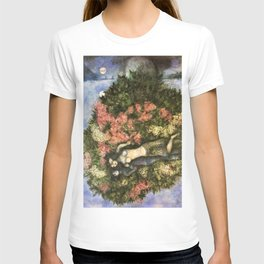 Lovers in the Lilacs by Marc Chagall T-shirt