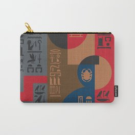 Egyptian Symbols Art Deco Composition #1 Carry-All Pouch