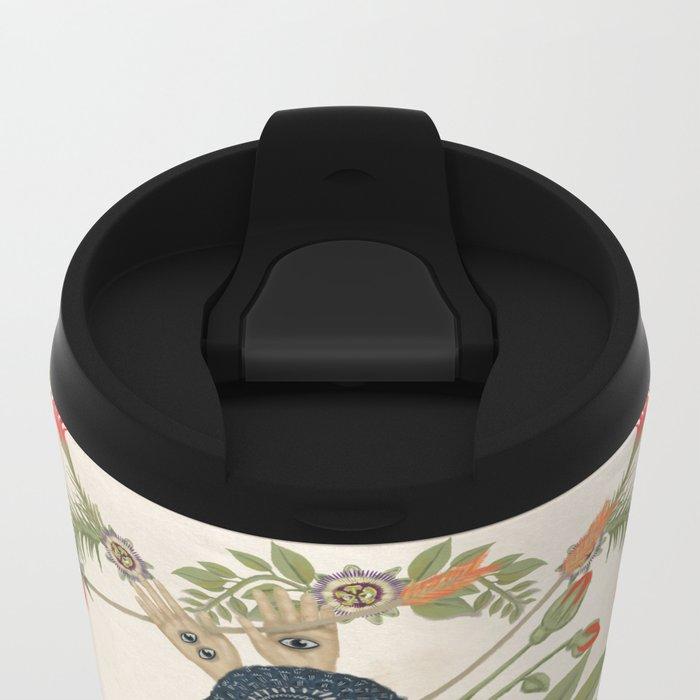 Bird Dance Metal Travel Mug