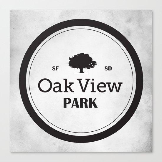 Oak View Park Canvas Print