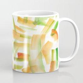 180719 Koh-I-Noor Watercolour Abstract 21 | Watercolor Brush Strokes Coffee Mug