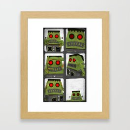 Frank photobooth Framed Art Print