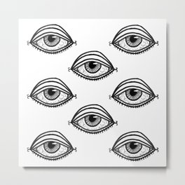 You're Being Watched Metal Print
