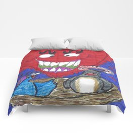 The Valentine Monster Meets The Love Birds Comforters