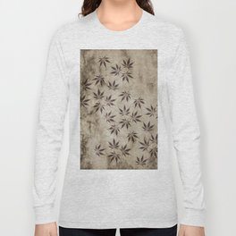 Marijuana Marble Long Sleeve T-shirt