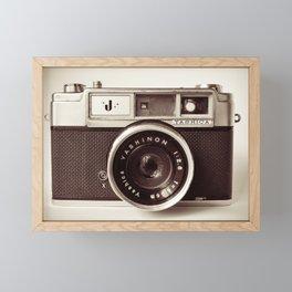 old camera photography, Camera photograph Framed Mini Art Print