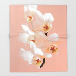 The mystery of orchid 9 Throw Blanket