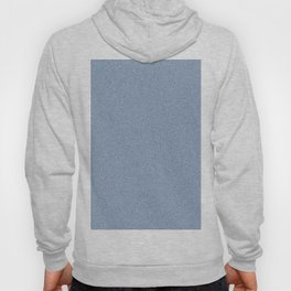 Dense Melange - White and Oxford Blue Hoody