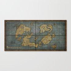 Seimeramus Map Canvas Print