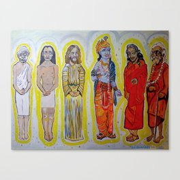 Saints of Self Realization Fellowship Canvas Print