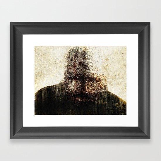 mr. self destruct Framed Art Print