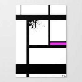 Lost Control Canvas Print