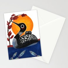 Baby Loon Stationery Cards