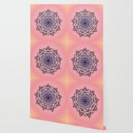 Baesic Sunset Traquil Mandala Wallpaper