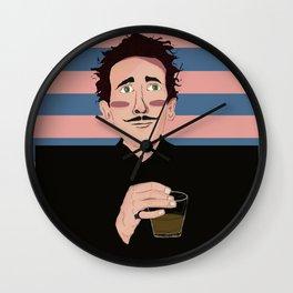 Adrien Brody as Dimtri - Wes Anderson Wall Clock