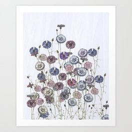Blooming Summer  Art Print