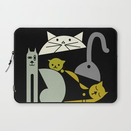Cats playing Laptop Sleeve