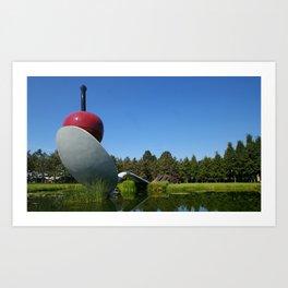 Walker Sculpture Garden Art Print