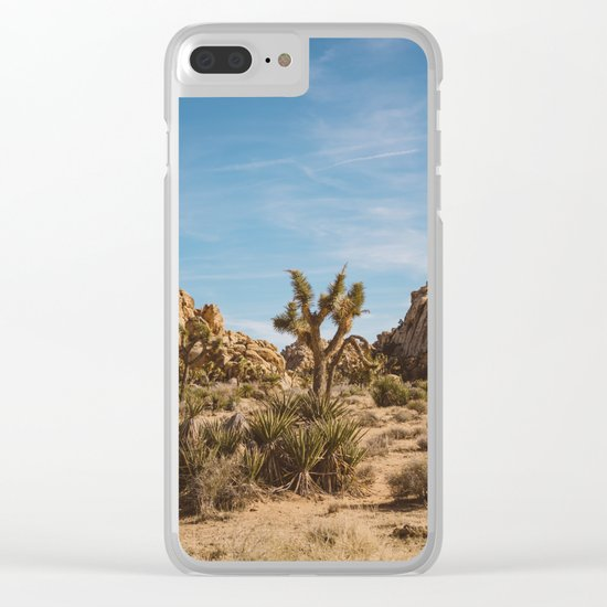 Joshua Tree National Park XXIII Clear iPhone Case